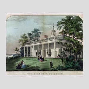 The home of Washington, Mount Vernon, VA - 1872 Th