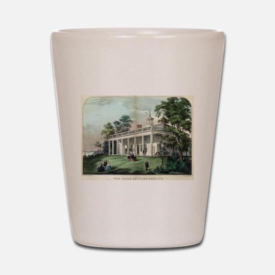 The home of Washington, Mount Vernon, VA - 1872 Sh
