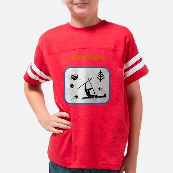 ys10x10_ShirtBL Youth Football Shirt