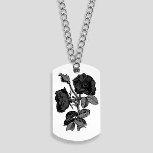 antique-rose_goth Dog Tags