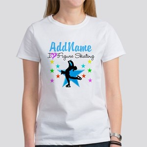 LOVE FIGURE SKATING Women's T-Shirt