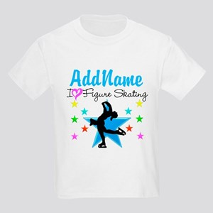 LOVE FIGURE SKATING Kids Light T-Shirt
