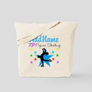 LOVE FIGURE SKATING Tote Bag