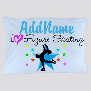 LOVE FIGURE SKATING Pillow Case