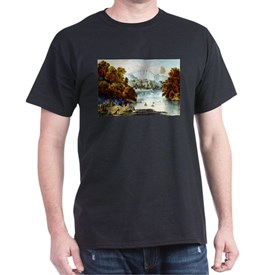 The fords of the Jordan - 1856 T-Shirt