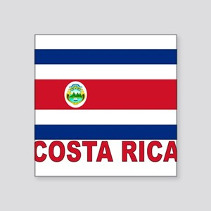 "costa-rica_s Square Sticker 3"" x 3"""