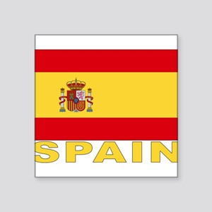 "spain_b Square Sticker 3"" x 3"""