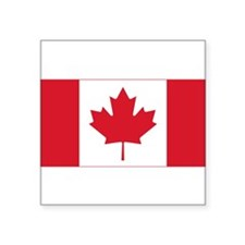 canadian-flag Square Sticker 3