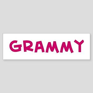 Grammy Bumper Sticker