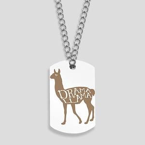 Drama Llama Dog Tags