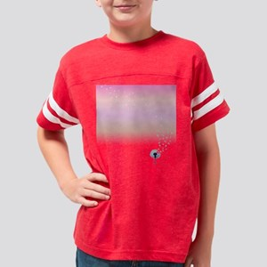 Dandelion Pink sunset Youth Football Shirt