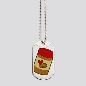 peanut-butter Dog Tags