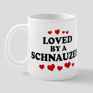 Loved: Schnauzer Mug