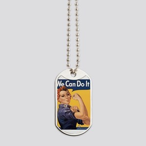we-can-do-it Dog Tags