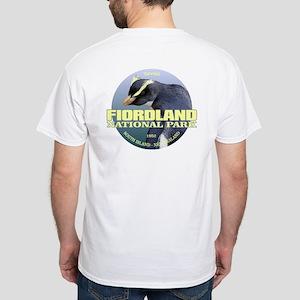 Fiordland Np (tawaki) Wt T-Shirt