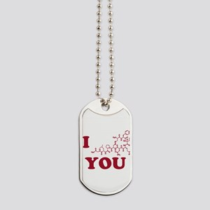 Oxytocin I Love You Dog Tags