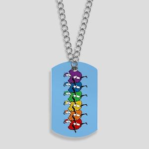 rainbow-cancan_tr Dog Tags