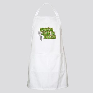Spooning Leads To Forking!  BBQ Apron