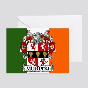 Murphy Arms Tricolour Cards (Pk of 10)