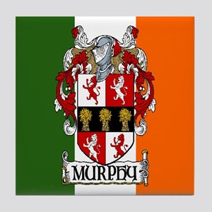 Murphy Arms Tricolour Tile Coaster