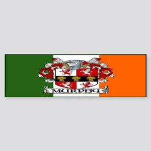 Murphy Arms Tricolour Bumper Sticker