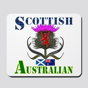 Scottish Australian Thistle Mousepad