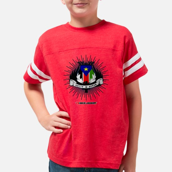 2-South Sudan Talimby Flag Fr Youth Football Shirt