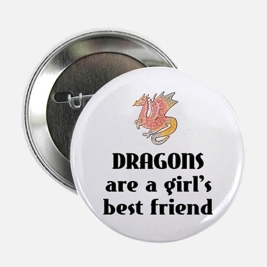 Dragon Girl Button