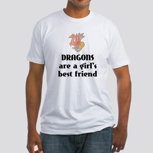 Dragon Girl Fitted T-Shirt