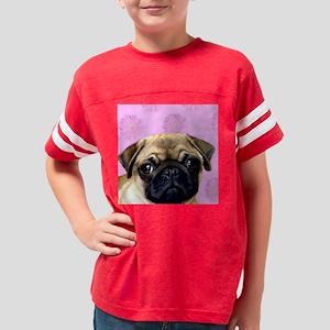 Pug Youth Football Shirt