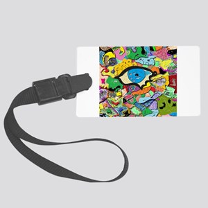 The All Knowing Eye Luggage Tag