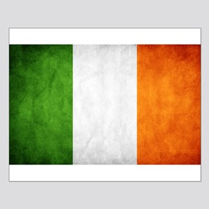antiqued Irish flag Posters