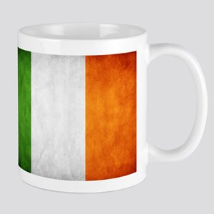 antiqued Irish flag Mug