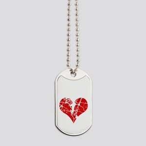 broken-heart-skulls_s Dog Tags