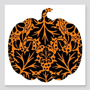 "bl_pumpkin-ink Square Car Magnet 3"" x 3"""
