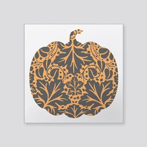 "bl_pumpkin-ink Square Sticker 3"" x 3"""
