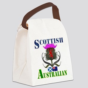 Scottish Australian Thistle Canvas Lunch Bag