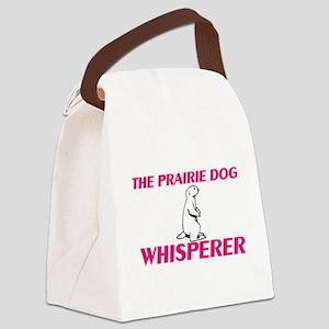 The Prairie Dog Whisperer Canvas Lunch Bag