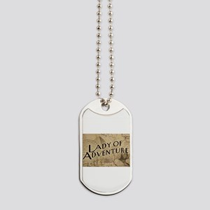 lady-of-adventure_light-t Dog Tags