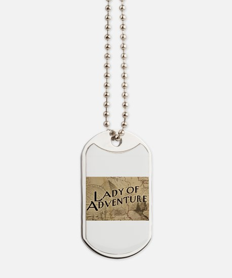 lady-of-adventure_light-t.png Dog Tags
