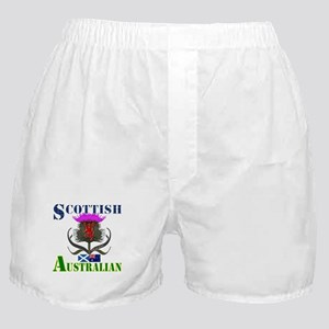 Scottish Australian Thistle Boxer Shorts
