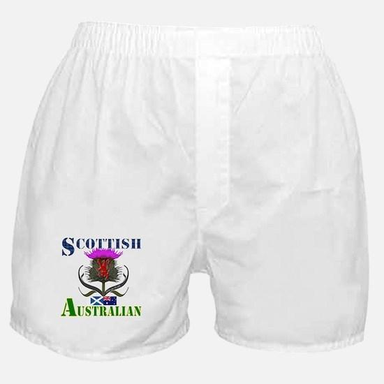 Scottish Australian Thistle Boxer Shorts