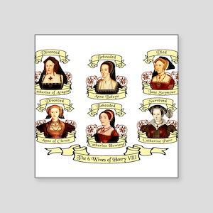 "wives2d Square Sticker 3"" x 3"""
