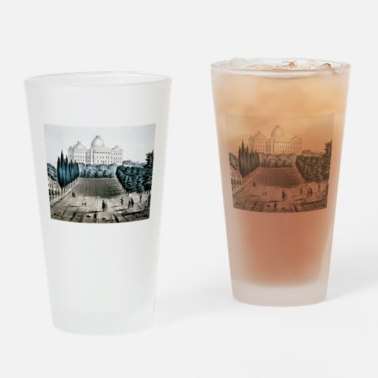 The Capitol at Washington - 1856 Drinking Glass
