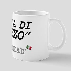 ITALIAN - DICKHEAD - TESTA DI CAZZO Small Mug