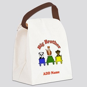 Big Brother Zoo Canvas Lunch Bag