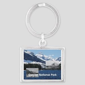 ABH Glacier National Park Landscape Keychain