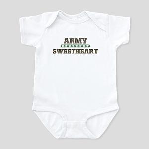 Army Stars Sweetheart Infant Bodysuit