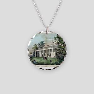 The home of Washington, Mount Vernon, VA - 1872 Ne
