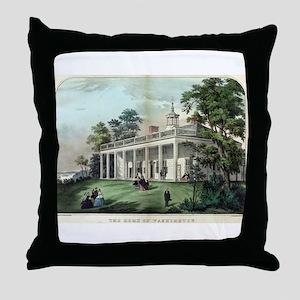 The home of Washington, Mount Vernon, VA - 1872 Th